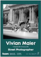 """Very Rare!! """"Vivian Maier"""" poster of exhibition!!!contemporary art photographer"""