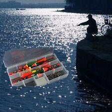 10Pcs/lot Assorted Size Light Stick Fishing Float Bobber Slip Drift Tube