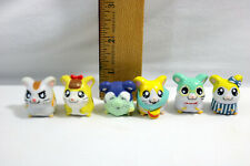 Lot of 6 - Hamtaro Ham Ham Hamster Figures Pencil Toppers - Id#0411