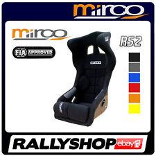 FIA MIRCO RS2 Sportsitz Rennsitz Schalensitz Homologation integriertem Kopfschut