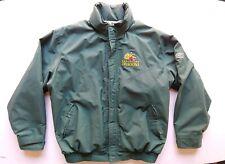 VTG Rare Barcelona Dragons Gore Tex rain jacket large green reebok jack bicknell