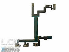 Apple Iphone 5G Power, Volume & Mute Button Flex Cable With Brackets New