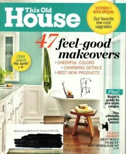 This Old House Magazine May 2014 - 47 Feel Good Makeovers, Low Cost Upgrades