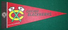 CHICAGO BLACK HAWKS  NHL MINI PENNANT, NEW & MADE IN USA