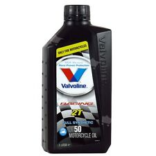 VALVOLINE RACING 2T OLIO MISCELA MOTORE 2 TEMPI 100% SINTETICO HONDA CR 250