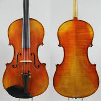"16.5"" Professional Antique Handmade Viola, Vintage Varnish, Deep Tone M3241"
