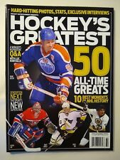 Beckett Hockey Greatest 2013 magazine - 50 All-time Greats $9.99 cover