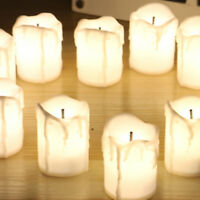 12 LED Tea Light Candle Tealight Flameless Battery Operated Wedding Party Decor