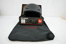 Bolle Unisex's Millenium Helmets, Matte Black Flash, 58-61 cm