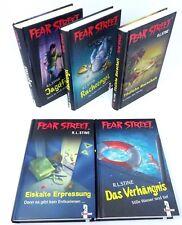 R. L. STINE Fear Street Super Chiller Band 1 2 4 5 6 Verhängnis Tödliche 5x Buch