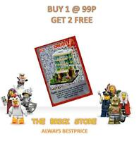 LEGO - #106 - HOTEL - CREATE THE WORLD TRADING CARD - BESTPRICE + GIFT - NEW
