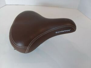 Schwinn Bicycle Bike 3 Coil Wide Cushion Seat Cionlli Saddle Brown Adult