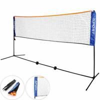 5m Badminton Volleyball Tennis Net Standard Training Outdoor Garden Sports