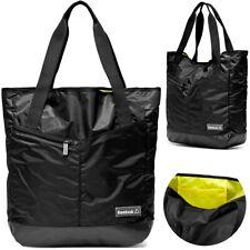 Reebok 30L Damen Sport Tasche Shopper Handtasche Fitness Women Bag Gym schwarz