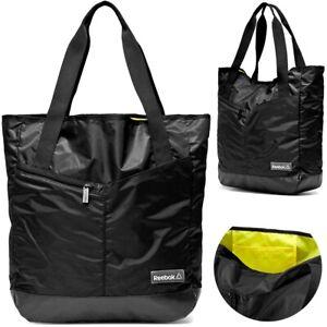 Reebok Shopper Ladies Handbag Sports Bag Gift Hand Bag Adidas Black XL