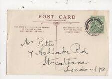 Mr Pitts Ashlake Road Streatham London SW 1905  917a
