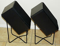 VINTAGE PR. BOSTON HD7 SPEAKERS and STANDS, excellent condition - pick up 92592