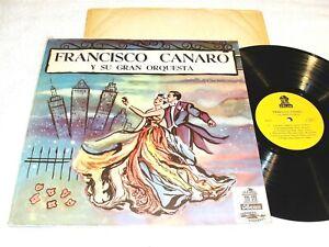 Francisco Canaro y Su Gran Orquesta - Self-Titled S/T, 1960's Latin LP,VG+,Odeon