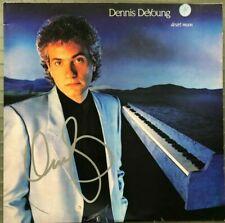 "Dennis DeYoung STYX Autograph "" Desert Moon "" Signed Album & Vinyl LP JSA"