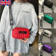 Womens MOSCHINO Handbag Designer Diagonal Messenger Shoulder Bag Crossbody -z