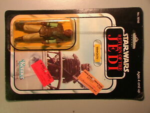 Star Wars VINTAGE 1983 Weequay Mint on Sealed Punch Card Kenner C-5.5 Cond ROTJ!