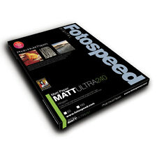Fotospeed Matt Ultra 240gsm Inkjet Paper. A4 - 50 Sheets. For Photo & Fine Art