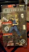 2001 Eminem Slim Shady Action Figure Toy Art Asylum Chainsaw Mask