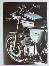 Prospekt Benelli 250 2C Elettronica, ca.1980, 4 Seiten, italienisch