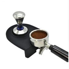 Small Black Barista Coffee Espresso Latte Art Pen Tamper Holder Silicone Pad Mat