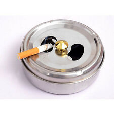 Diameter Ashtrays Soot Barrel Lid Rotation Closed Off Ashtray Stainless Steel