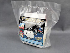 Wendy's Kids Meal Toys Peanuts 50th Anniversary #5 Dog House Puzzle Sealed W/COA