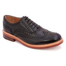 Gentleman's GOODYEAR à Trépointe Oxford Chapman and Moore Durham UK Noir Taille 8.5