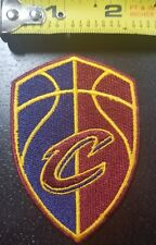 "Cleveland Cavaliers Shield 3.2"" Iron/Sew On Patch ~FREE SHIPPING FROM THE US~"