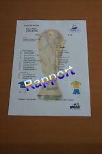 Rapport de la finale Coupe du Monde 1998 France Brésil 98 Zidane