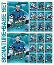 SJ SHARKS TEAM PACK-10 CARD SETS-SIGNATURE MELD+BASE-TOPPS SKATE 19 DIGITAL