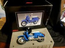 RARE COLOR SCHUCO 1/10 KR51/1 MOTORBIKE BLUE & WHITE SCOOTER MINT CONDITION !!