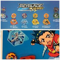 McDonald's Happy Meal 2020 BEYBLADE BURST TOYS Complete Set of 6 SEALED ON HAND