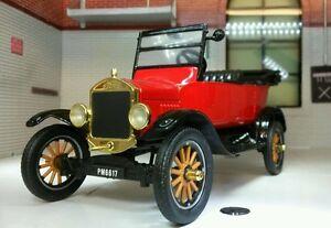 G LGB 1:24 Scale 1925 Ford Model T Tourer Vintage Car Railway Diecast Motormax