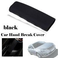 Black Car Silicone Hand Brake Handle Cover Non-Slip Lever Handbrake Case Gel Mat