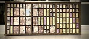 Letterpress Print Tray Wood Drawer Curios Display Upcycled And Lined