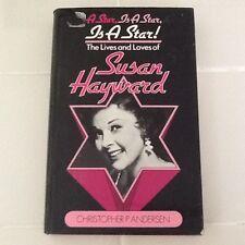 Susan Hayward Bio Jess Barker Scandal Suicide Gable Wayne Hughes Chandler  HC/DJ