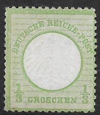 German Reich stamps 1872 MI 2a UNG VF