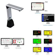 ReadDesk Plus - Scanner / Reader / Magnifier, Low Vision, Portable, Hi-Contrast