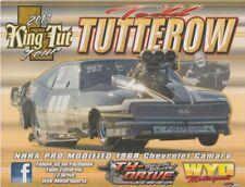 "2018 Todd Tutterow ""King Tut"" '68 Chevy Camaro Pro Mod NHRA postcard"