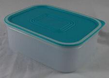 Tupperware A 150 Quadro Dose Behälter Box 500 ml Weiß / Hellblau Blau Neu OVP