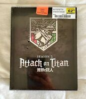 Attack On Titan: Season 2 - Limited Edition Blu-Ray + DVD Box Set / Anime