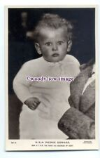 r1704 - Prince Edward son of Duke & Duchess of Kent - postcard
