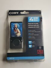Coby 4 GB  2.4 inch Video Mp3 Player MP727-4G New with FM