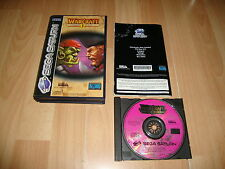 WARCRAFT II THE DARK SAGA DE BLIZZARD PARA LA SEGA SATURN EN BUEN ESTADO