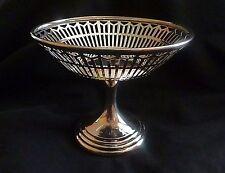 Giorgio V argento piedistallo Bonbon piatto da S. Blanckensee Birmingham 1912
